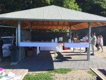 Wetterschutzhütte